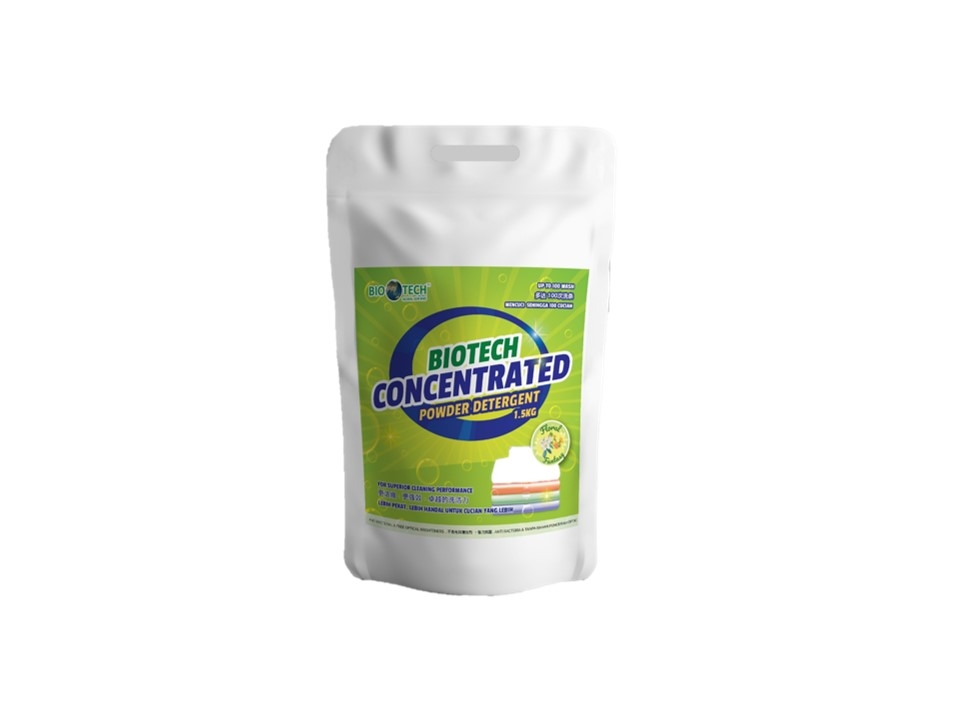 BTSP-B001 Concentrated Powder Detergent 1.5KG