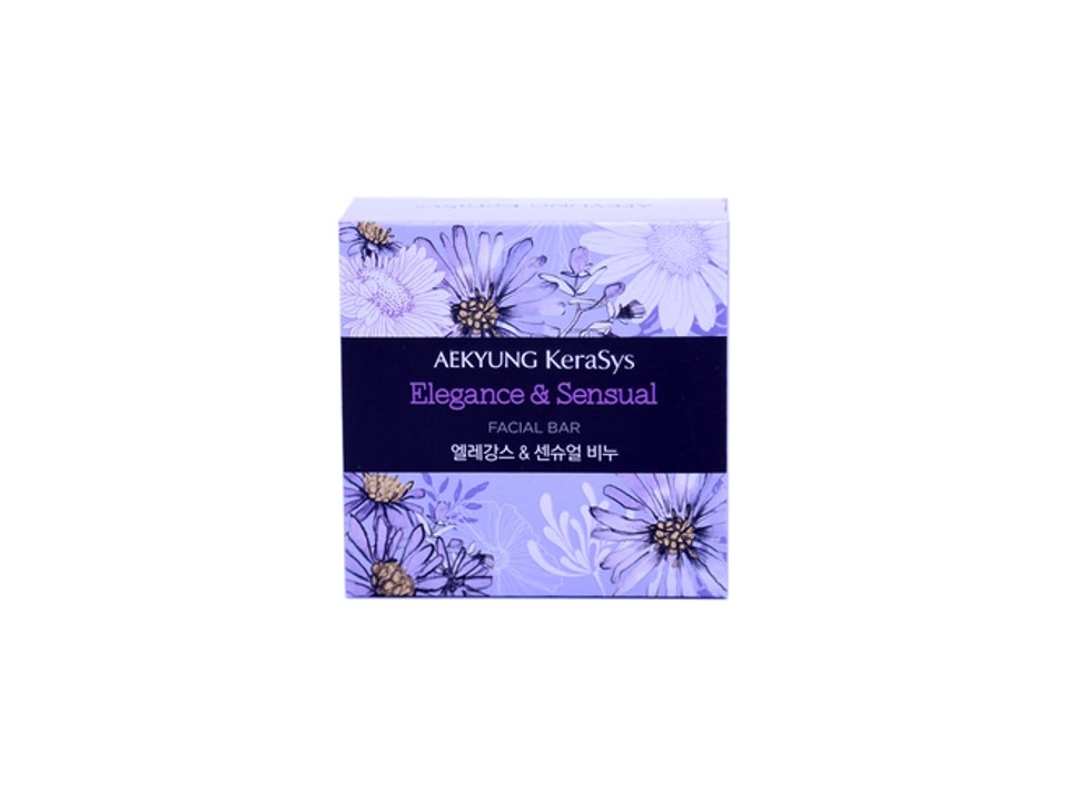 SP-A002 AEKYUNG Elegance & Sensual Facial Bar (Purple) 90G