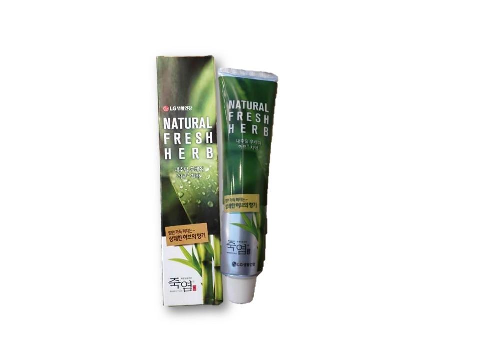 SP-L001 LG Bamboo Salt Toothpaste-Natural Fresh Herb